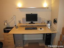 How To Assemble A Computer Desk Twanis How To Build The Best Ikea Computer Desk Parts