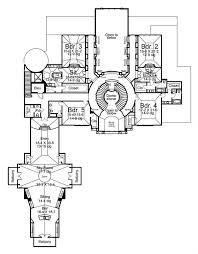 luxury house floor plans european home with 6 bdrms 13616 sq ft floor plan 106