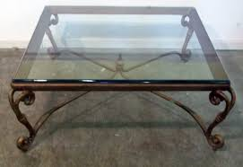 stylish glass top square coffee table with wooden pedestal coffee