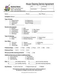 House Cleaning Estimate Form by Basic Cleaning Service Price List Cleaning Tips