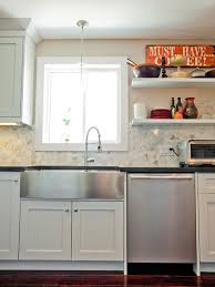 Apron Front Sink Base Cabinet Stainless Steel Apron Front Sink Houzz