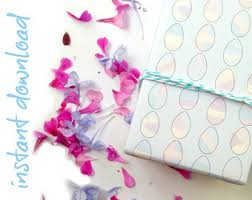 easter wrapping paper easter gift wrap etsy