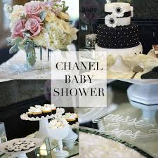 chanel baby shower chanel inspired party a happy