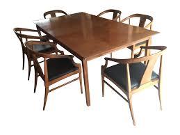 Thomasville Dining Room Chairs Thomasville Vintage Mid Century Dining Set Chairish