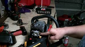 homelite chainsaw repair how to rebuild the carburetor and minor