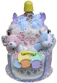 baby shower diaper cake for twins