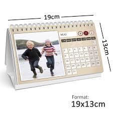 calendrier bureau personnalisé calendrier photo personnalisé de bureau 13x19cm