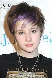 heart shaped face thin hair styles cute short hairstyles for teenage girls women haircuts hair stock