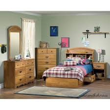 nightstand dazzling donco kids full size with twin trundle boys