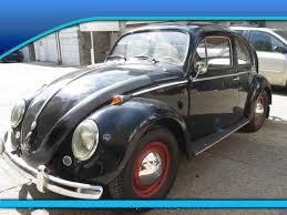 Vw Beetle Classic Interior 1958 Volkswagen Beetle Red Vinyl Interior Classic Manual Original