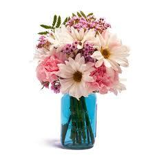 jar flowers dreamy floral blue jar at send flowers