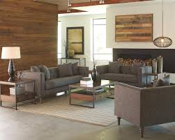 Stanton Home Furnishings by Ellery Sofa With Traditional Industrial Style By Coaster