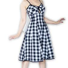 best black and white gingham dress products on wanelo