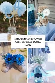 blue baby shower decorations 18 boys baby shower centerpieces you ll like shelterness