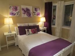 purple accent wall in bedroom also stylish paint colors for 2017