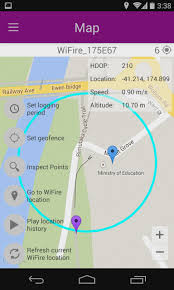 android geofence flowcloud on arduino