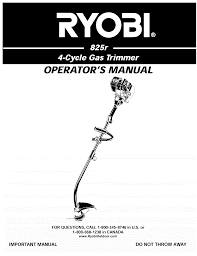 ryobi trimmers 825r pdf owner u0027s manual free download u0026 preview