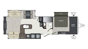 Bullet Travel Trailer Floor Plans by 2018 Keystone Laredo 334re Model
