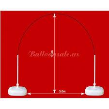 wedding balloon arches uk big wedding balloon arch frame kit 3 0m 4 0m uk for sale on