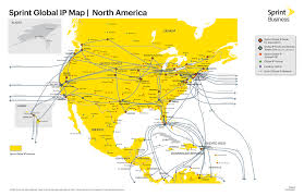 Map Of The Continental United States by Intertubes A Study Of The Us Long Haul Fiber Optic Infrastructure