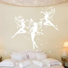 fairy lady mirror wall stickers fantasy wall decor dancing fairies wall sticker