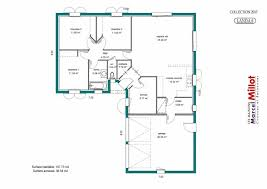 plan maison gratuit plain pied 3 chambres plan maison gratuit plain pied 3 chambres great ordinaire plan
