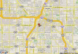 las vegas blvd map map of howard johnson inn las vegas las vegas