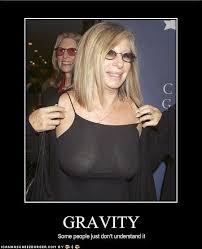 Barbra Streisand Meme - gravity funscrape
