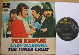 The Inner Light Beatles Totally Vinyl Records Beatles The Lady Madonna 7 Inch