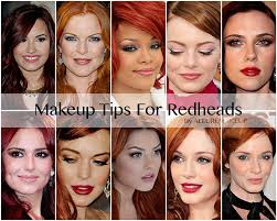 tips for redheads1 cat eye eyeliner looks fantastic with red hair 2 you can wear bronzer and red lipstick 3 light concealer under eyes 4 brown eye