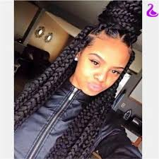 big braids hairstyles hotsalenatural black straight braided synthetic lace front wig