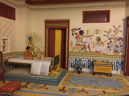 Egyptian Bedroom It U0027s The Little Things Five Miniature Rooms In 1 12 Scale