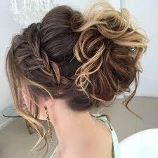 Hochsteckfrisurenen Lockige Haare by Schöne Haarfrisuren Für Jeden Anlass