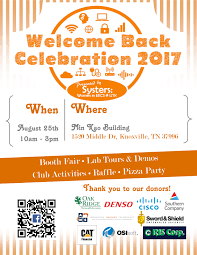 Utk Map Eecs Welcome Back Celebration 2017 Department Of Electrical