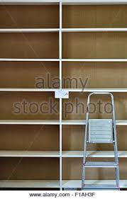 Moving Bookshelves Empty Bookshelves Stock Photo Royalty Free Image 35874242 Alamy