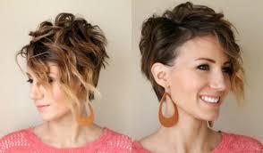 Frisuren Mittellange Haare Naturlocken by Kurze Haare Locken Frisuren Mit Locken Für Kurzhaarschnitt
