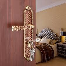 Bedroom Door Lock by Pastoral Luxury Antique Bronze Rose Gold Bedroom Door Lock
