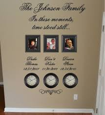 Personalized Clocks With Pictures 28 Best Birth Clocks Images On Pinterest Clock Ideas Births And