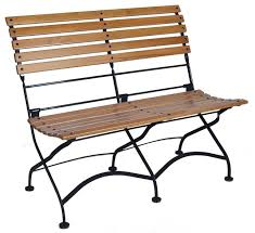 Black Bistro Chairs Amazing French Cafe Bistro 2 Seat Folding Bench Black Frame African Teak Folding Bistro Chairs Ideas Jpg