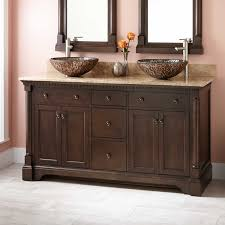60 vessel sink vanity antique coffee bathroom