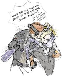 Memes Characters - this type of art moira vs mercy gives me life overswoosh