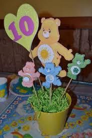 Teddy Bear Centerpieces by Care Bears Centerpieces Care Bears Birthday Care Bears Party