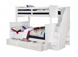 Creative Of Full Bunk Beds With Stairs Monahan Twin Over Full - Stairway bunk bed twin over full
