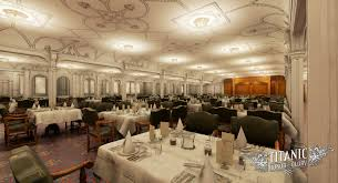 Titanic First Class Dining Room First Class Dining Saloon Titanic Wiki Fandom Powered By Wikia
