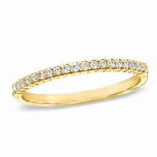 gold diamond band wedding bands wedding zales