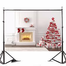 2 1x1 5m 7x5ft christmas tree fireplace photography vinyl