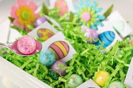 easter egg hunt eggs free printable matching easter eggs sensory bin cs