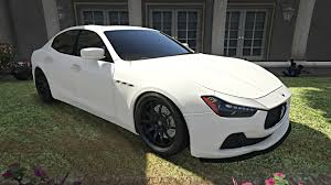 custom maserati gta 5 maserati ghibli s youtube