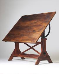Wood Drafting Table Solid Wood Drafting Table Sukaroot Us