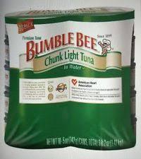 bumble bee chunk light tuna bumble bee chunk light in water 5 oz tuna 10 ct cans ebay
